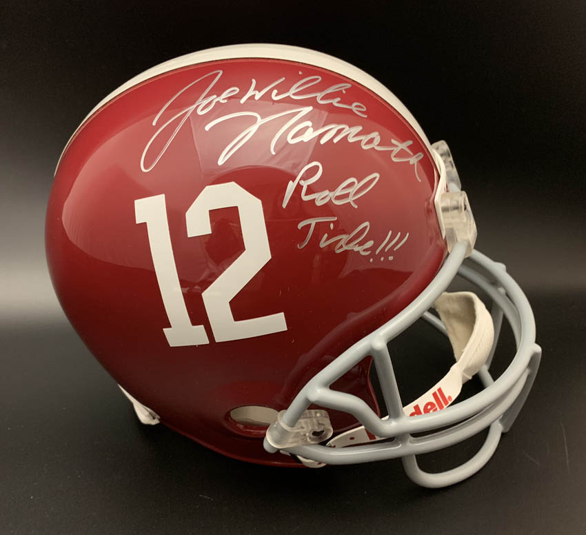 00757186 Details about Joe Nammath SIGNED Alabama Roll Tide Full Size Helmet 12 ITP  PSA/DNA AUTOGRAPHED